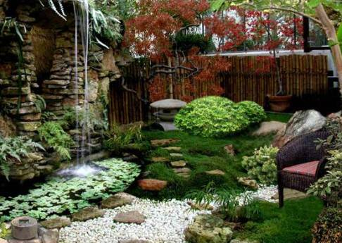 Спецэффекты в саду