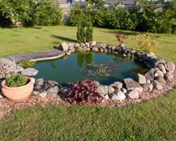 Сооружение искусственного водоема