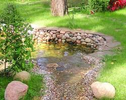 Создание декоративного водоема
