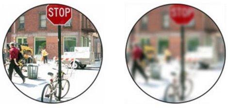 Как видят мир люди с близорукостью