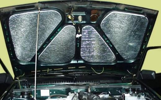 Свойства материалов для шумоизоляции авто