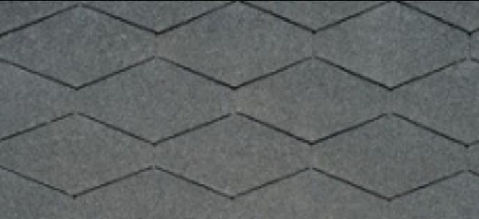 треугольная форма битумной черепицы на фото