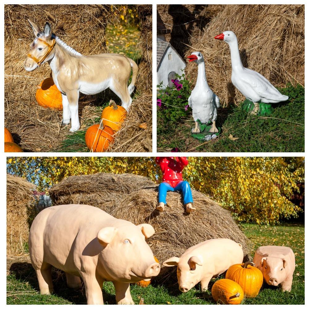 Садовые игрушки из полистоуна - домашние животные